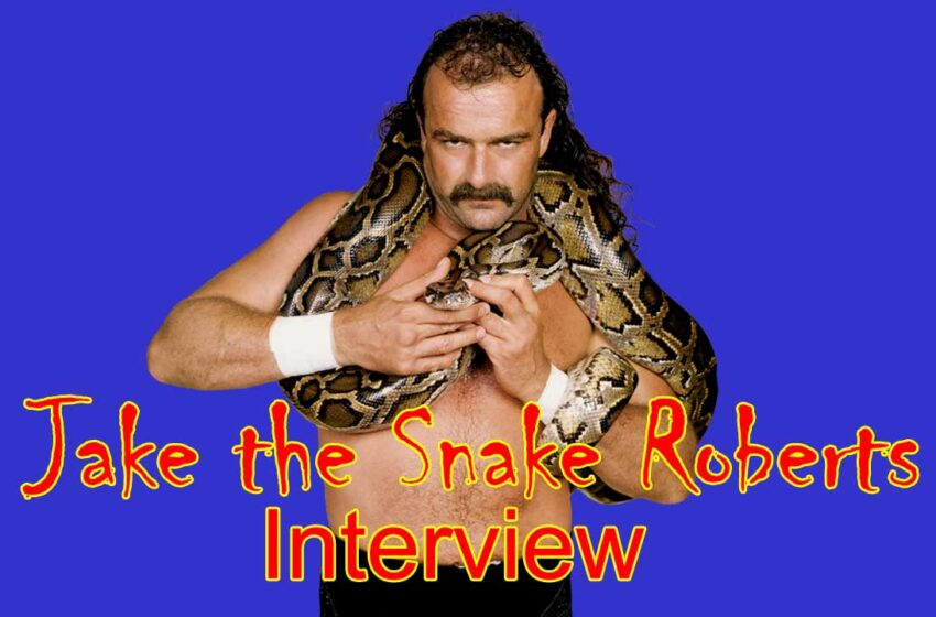 Video: Jake the Snake Roberts interview