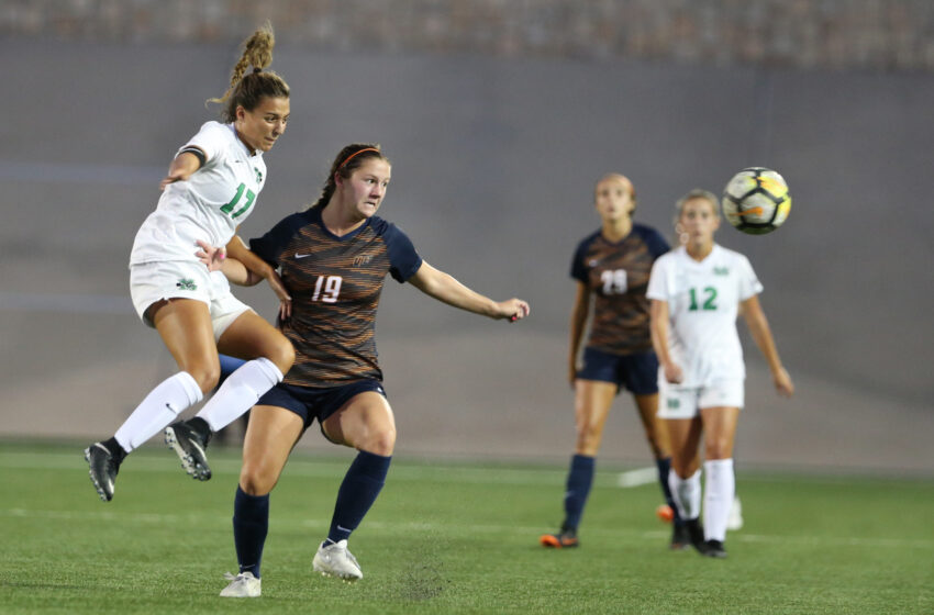 UTEP Soccer Battles To A Draw Against Southern Miss 1-1