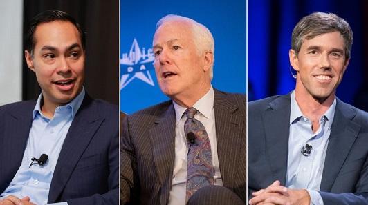 Beto O'Rourke. Julián Castro. John Cornyn. 2020 Already Looms Large in Texas