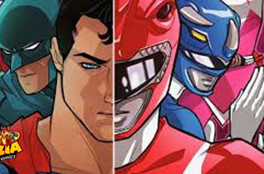 TNTM: Justice League / Power Rangers team up