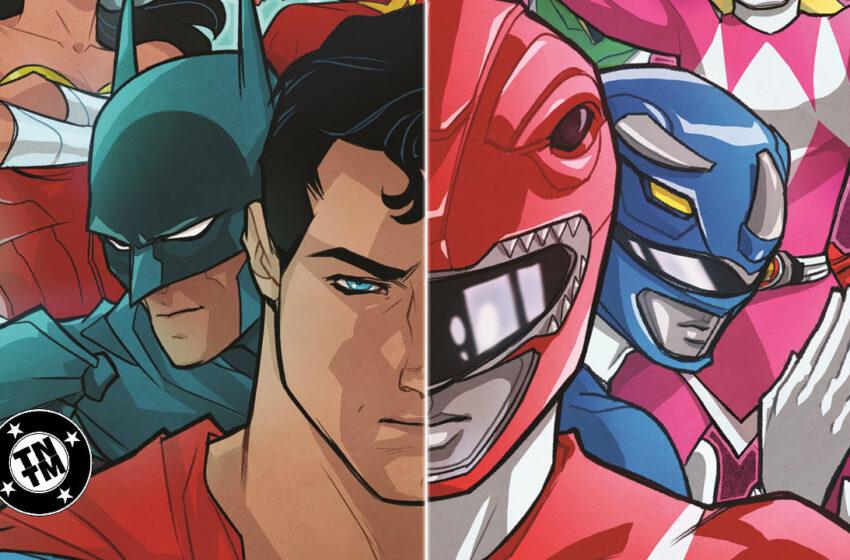 TNTM: Justice League versus The Power Rangers