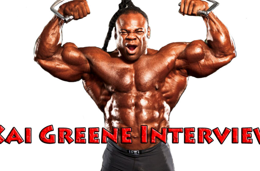 TNTM: Kai Greene Interview