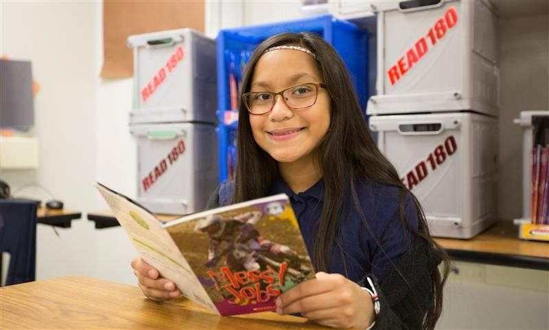 Hernando Middle School Student Earns National 180 Student Award for Reading