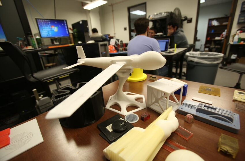 UTEP 3-D Printing is Focus of New Graduate Certificate