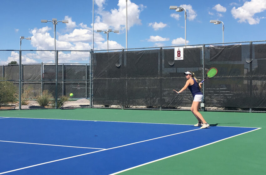 Prelle Claims Singles Crown On Final Day Of NM State Aggie Invite
