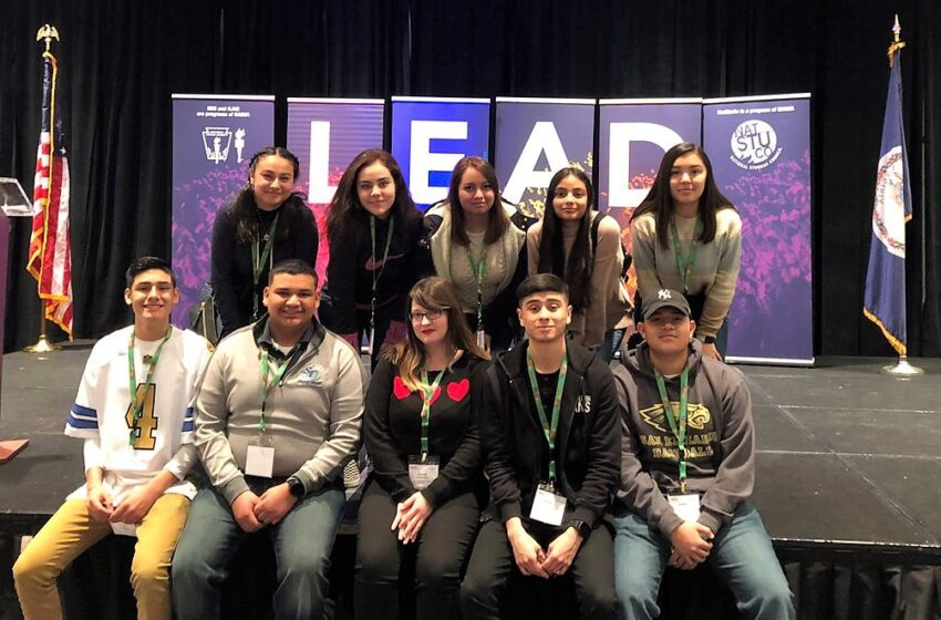 San Eli HS NHS Members Attend LEAD Conference In D.C. for First Time