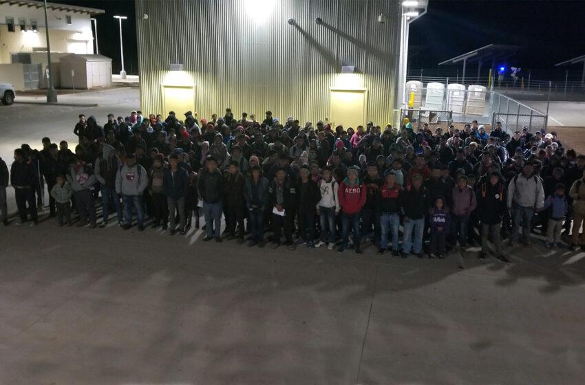 200+ Migrants Surrender to Border Patrol Agents Near Lordsburg, NM
