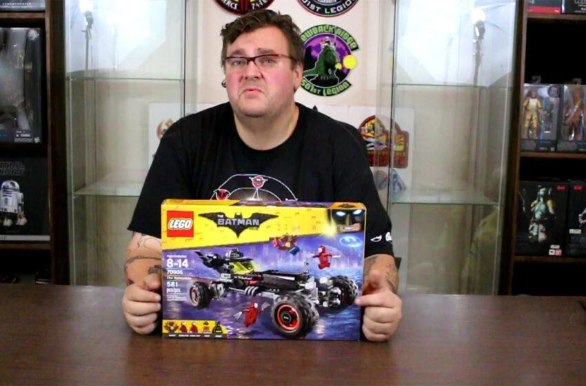 TNTM: Lego Batman Batmobile Build