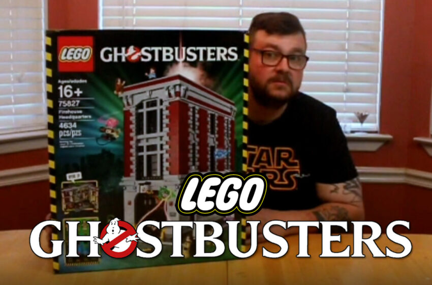 TNTM: Ghostbusters Lego Firehouse Headquarters Unboxing and Speed Build