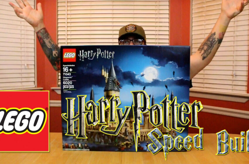 Video+Story: Lego Harry Potter Hogwarts Castle Speed Build