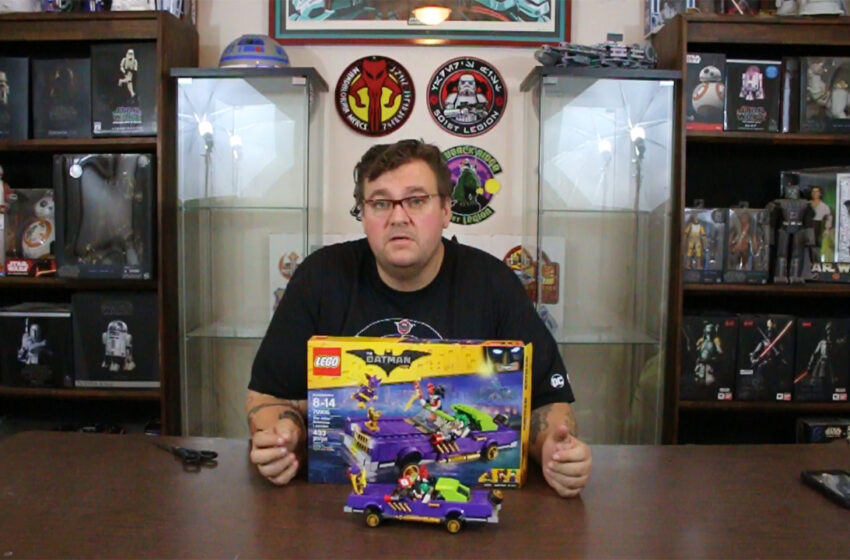 TNTM: Lego Joker Notorious Lowrider Build