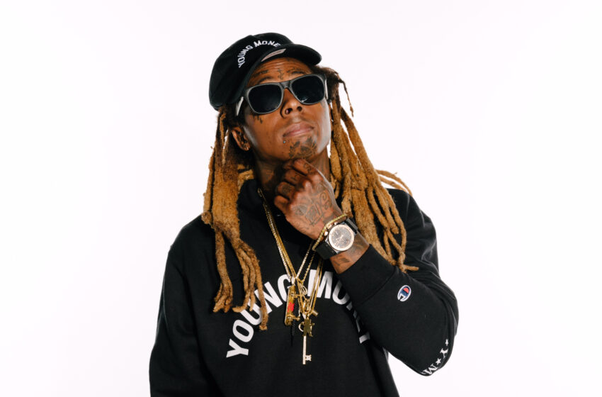 Lil Wayne Steps in for Cardi B at Neon Desert
