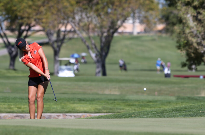 UTEP Golf Update: Women Tied for First in Missouri; Men Tied for 13th in Soggy San Antonio