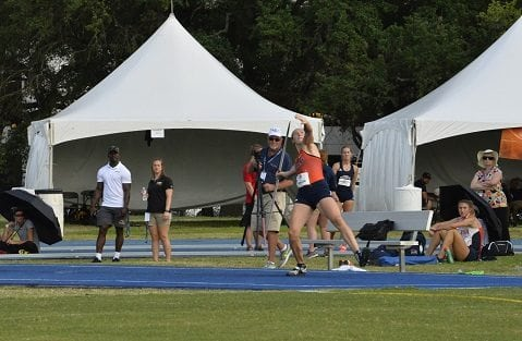 Mokrasova Captures Gold in the Heptathlon at the 2018 C-USA Outdoor Championships