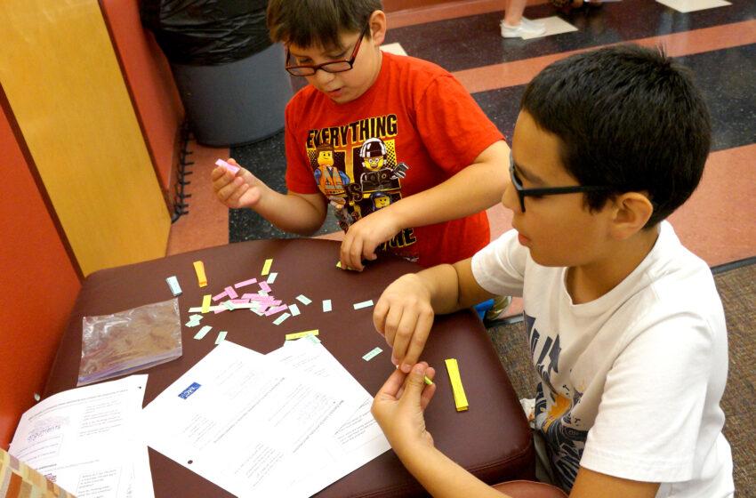 Teachers Learn from Students during NMSU MathLab Summer Program