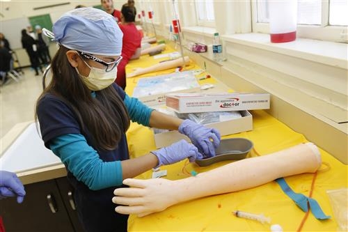 Video+Story: Guillen Students Get Insight into Medical Professions
