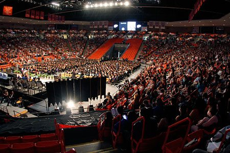 2,600 Graduates Expected for UTEP's Spring 2017 Commencement