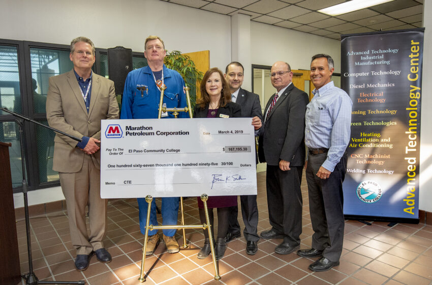 Marathon Petroleum $167k Grant to Enhance Training in Welding, Machining Technology at EPCC