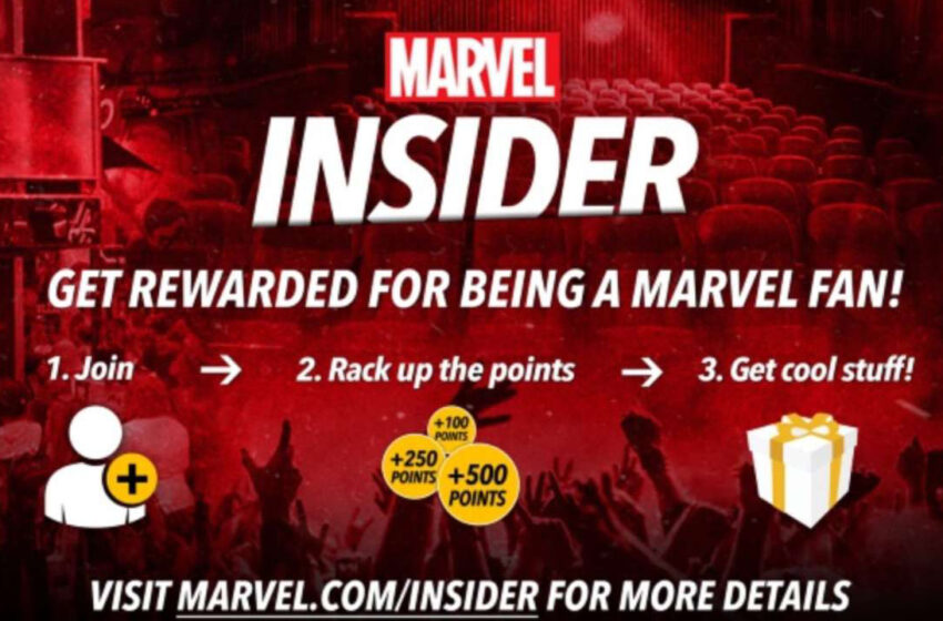 TNTM: Join Marvel Insider and get FREE stuff
