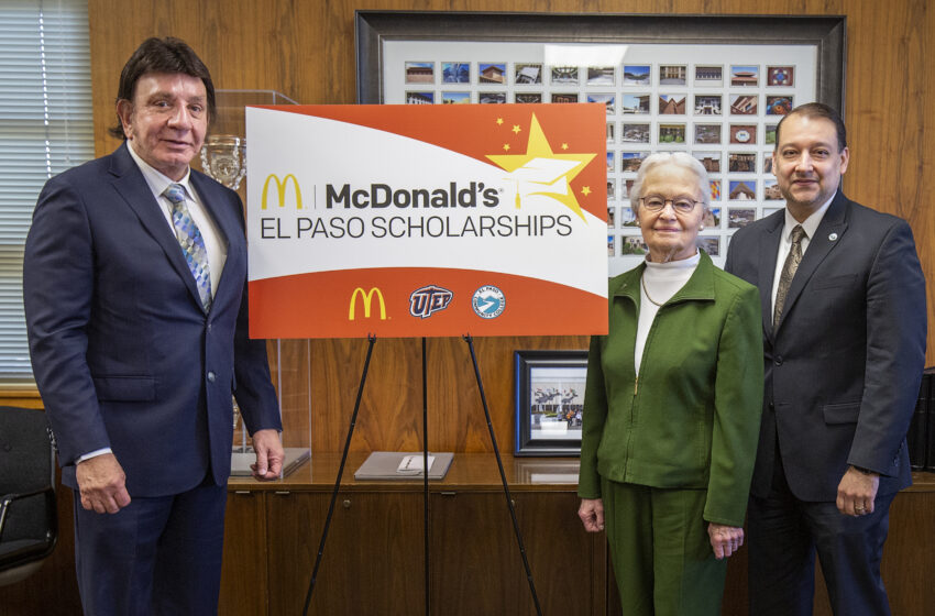 EPCC, UTEP, McDonalds Announce Partnership to Benefit Students
