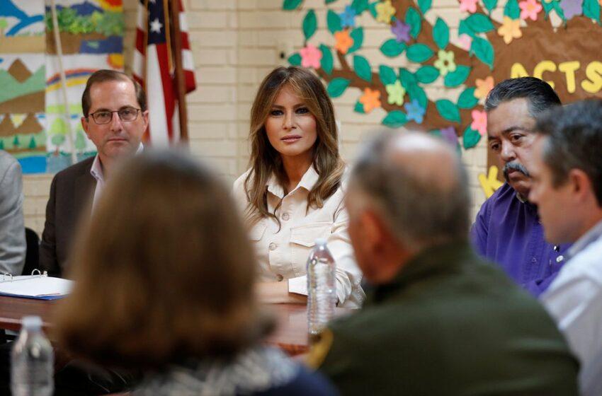 Melania Trump Visits Separated Migrant Children in McAllen, Texas