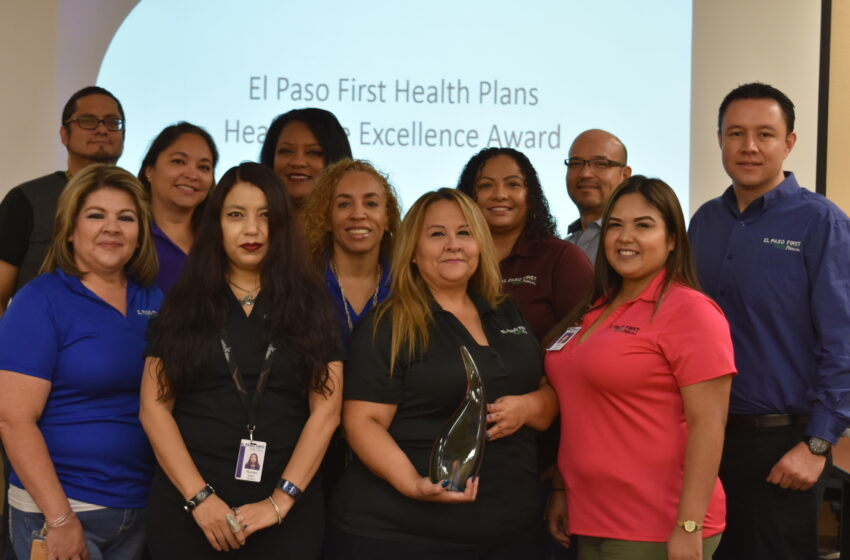 El Paso First Health Plans Honored with Healthcare Excellence Award