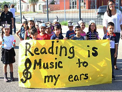 North Loop Elementary holds 11th annual Literacy Parade