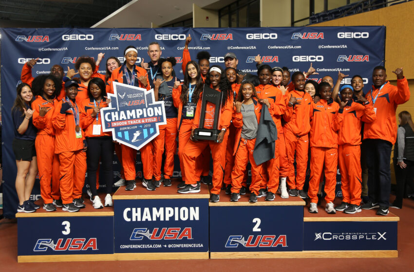 UTEP Women's Track and Field Team Wins C-USA Title