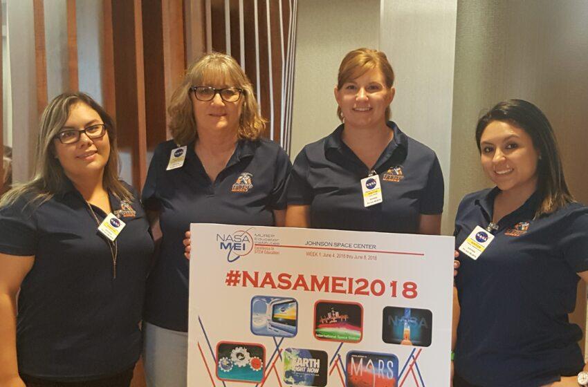 NASA Camp Empowers UTEP Education Students