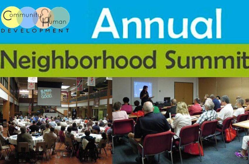 12th Annual Neighborhood Summit set for Saturday