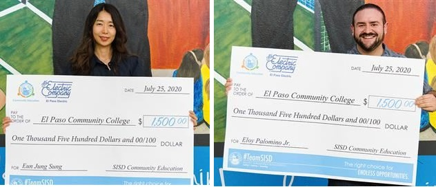 Two Community Education graduates earn El Paso Electric scholarships