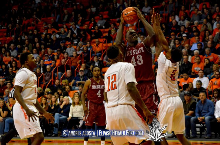 Story in Six Pics: Miners lose to Aggies 73-53