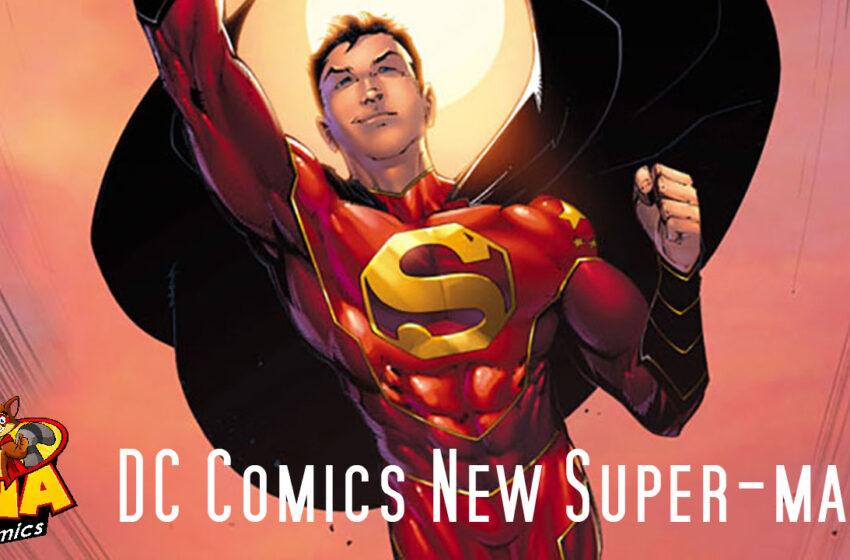 TNTM DC Comics debuts Chinese Super-man