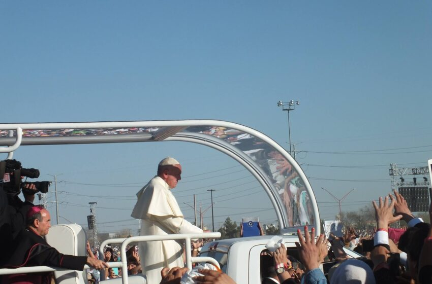 Pope Francis: Waiting to Catch a Glimpse