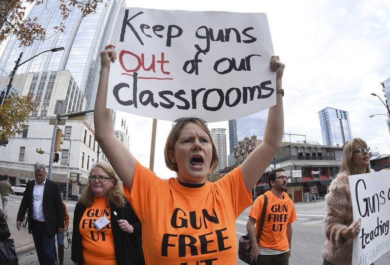 Texas Universities likely to allow guns in classrooms