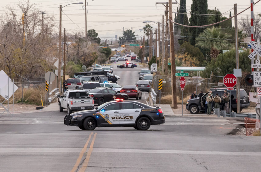 Suspect In South El Paso Officer Involved Shooting In Custody