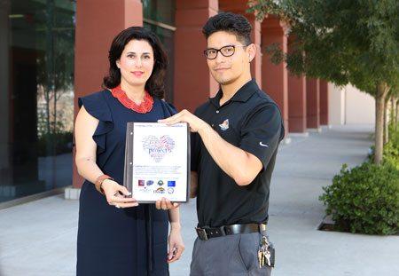 UTEP Goes Purple for LGBTQ Health