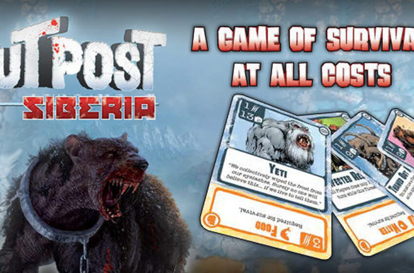 Video by TNTM: How to Play Outpost Siberia by IDW Games