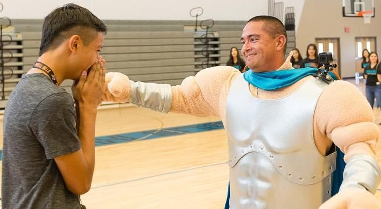 Pebble Hills High Student Surprised by Army Dad's Homecoming