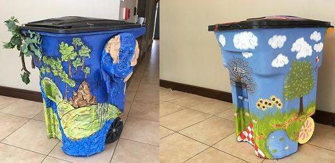 "Environmental Services Department announces Earth Day 2017 ""Trash Bin Art Contest"""