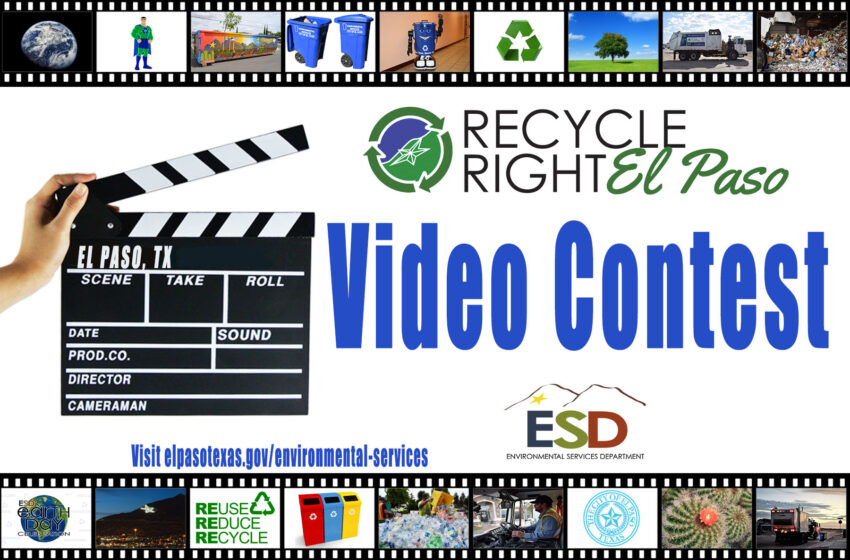 """2018 """"Recycle Right, El Paso"""" Contest for High Schoolers Underway"""