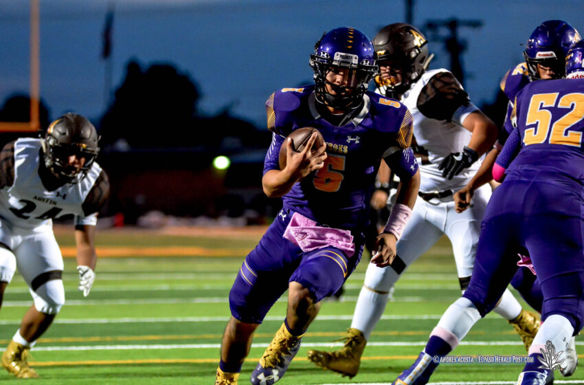 Story in Many Pics: Burges Bests Austin 25-7