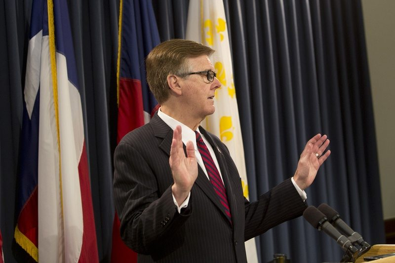 Dan Patrick Unconvinced by House Action on Bathrooms, Property Taxes