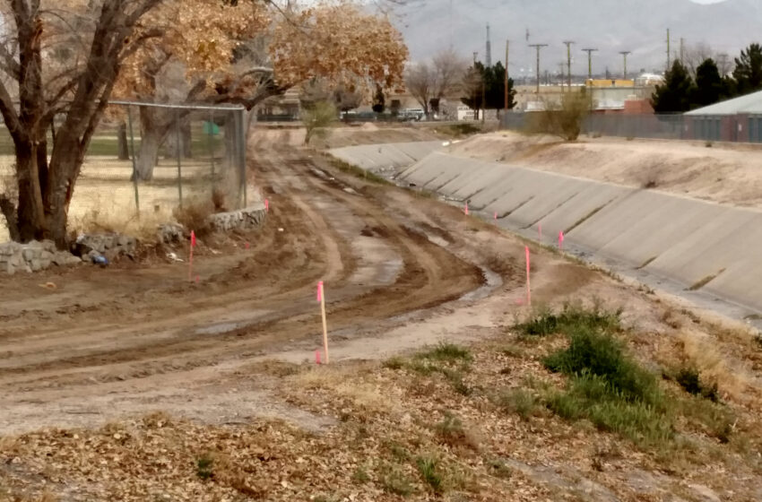 Construction on First Phase of Paso Del Norte Trail Underway