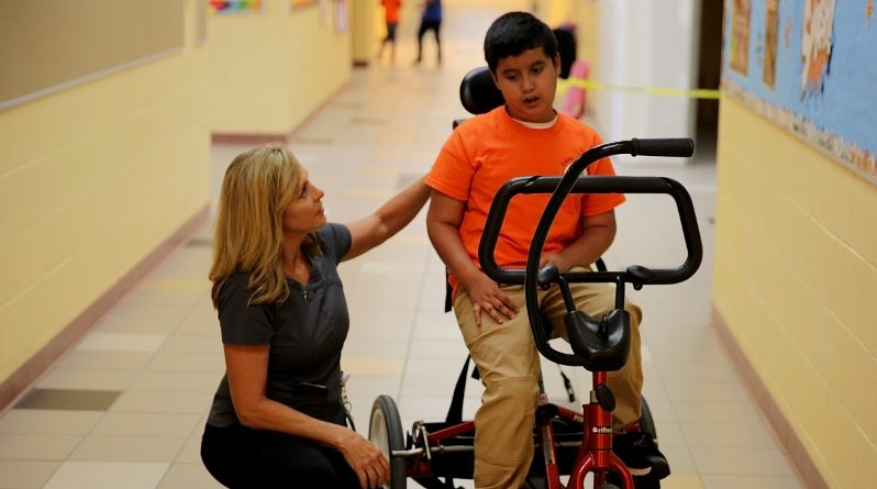 Canutillo ISD Physical Therapist Supports Student Access to Educational Environment