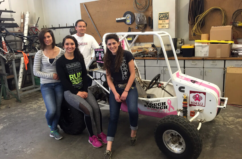 NMSU's First All-Female Team to vie for Checkered Flag at Mini Baja Competition in April