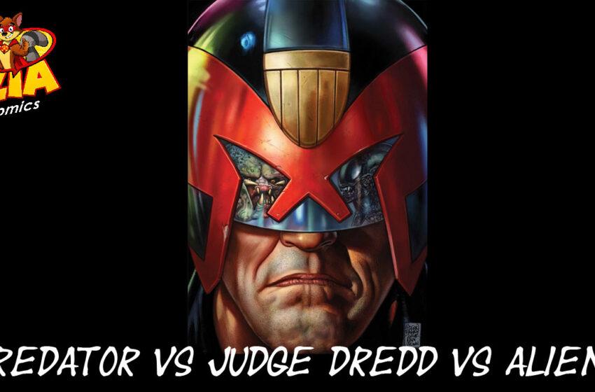 TNTM Predator vs Judge Dredd vs Aliens
