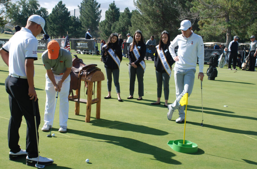 Sun Bowl Western Refining College All-America Golf Classic Tees Off with Contests