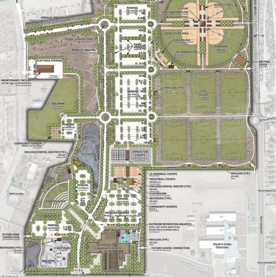 El Paso City Council Approves Design Contract for 1st Phase of Eastside Regional Park