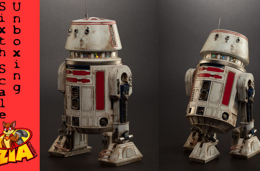 Star Wars R5-D4 1/6 scale figure SideShow Unbox
